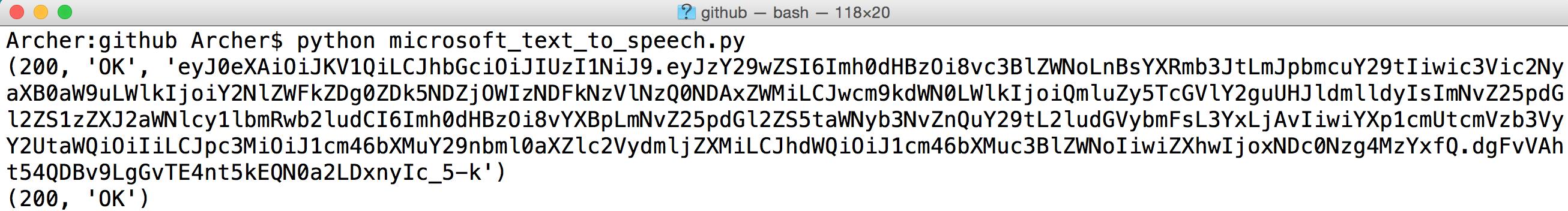 Linkit Smart 7688 ] 透過Python 使用Microsoft 的Cognitive