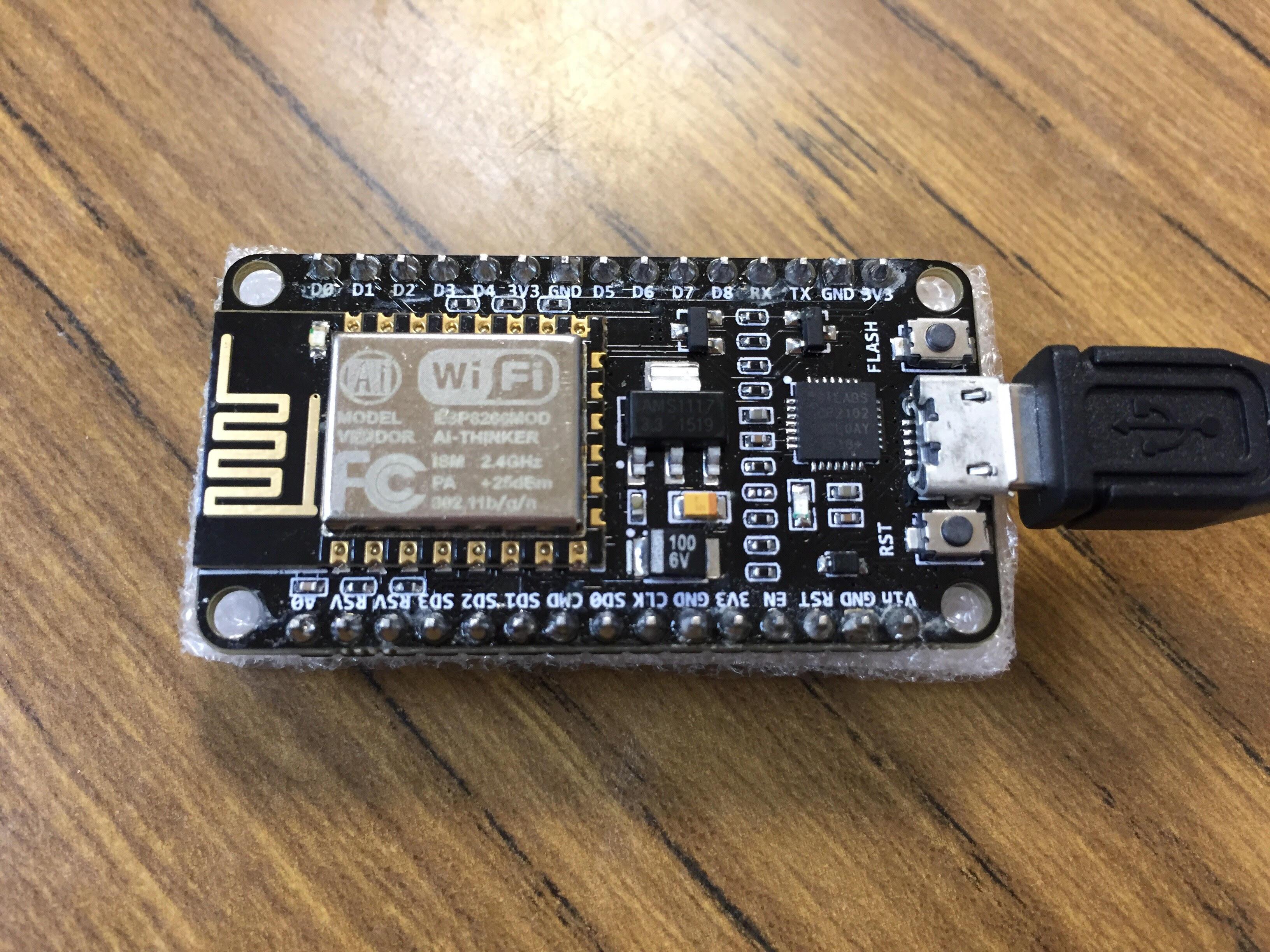 ESP8266 & NodeMCU ] 在Arduino IDE 設定NodeMCU